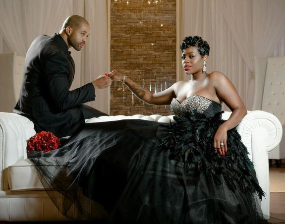 Fantasia Barrino has finally jumped the broom with her fiancee Kendall Taylor.