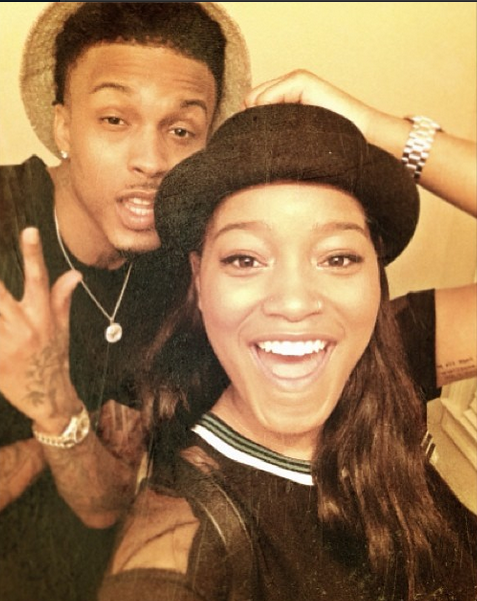 Keke Palmer clears up August Alsina dating rumors