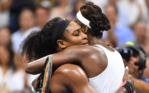 Serena Williams beats Venus Williams to reach U.S. Open semis