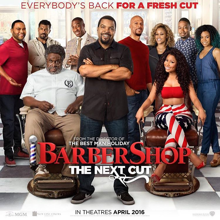 See Nicki Minaj As A Hairdresser In This 'Barbershop 3′ Sneak Peek