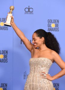 First Black Woman to Win Golden Globe for Best Actress in Television Comedy In 35 Years —  Treacee Ellis Ross