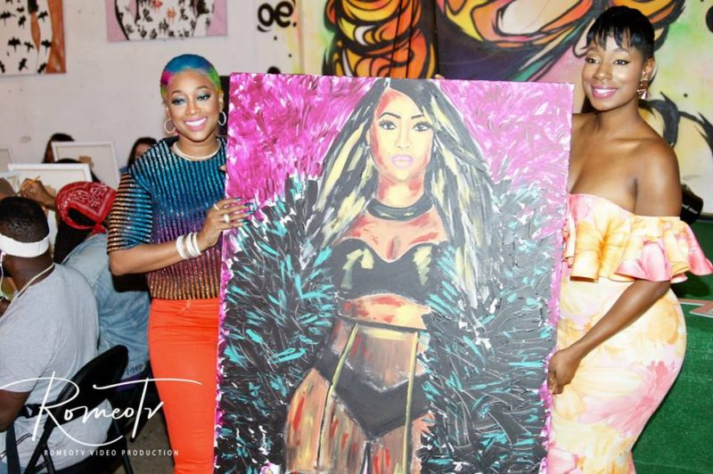 Trina Paint and Sip